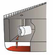Ship-2-Shore Float Coat protection from corrosion and rust for tight and confined spaces, measure and pour